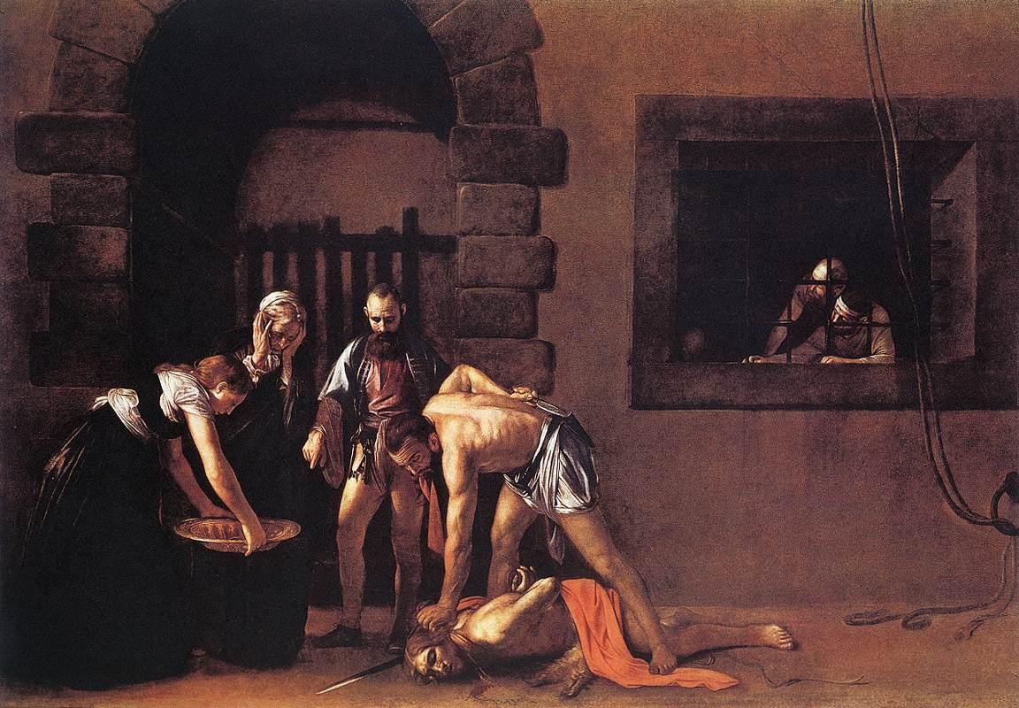 St john the baptist caravaggio similar
