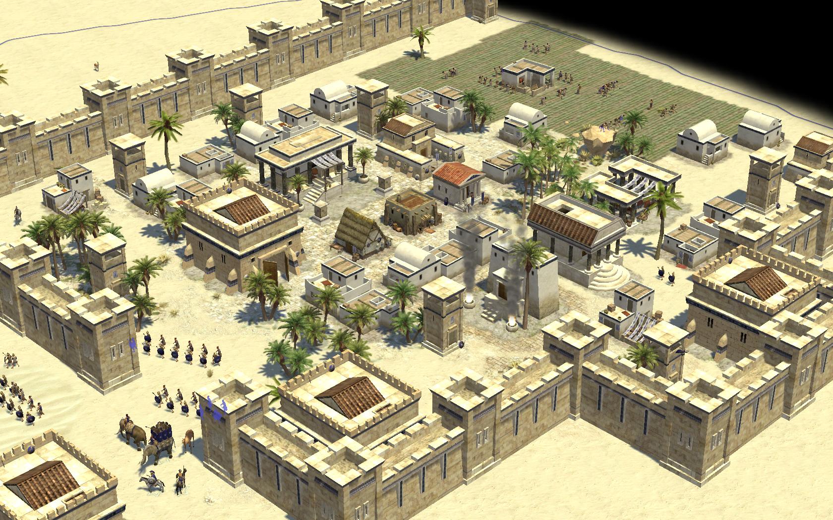 Urban Buildings Game Of War