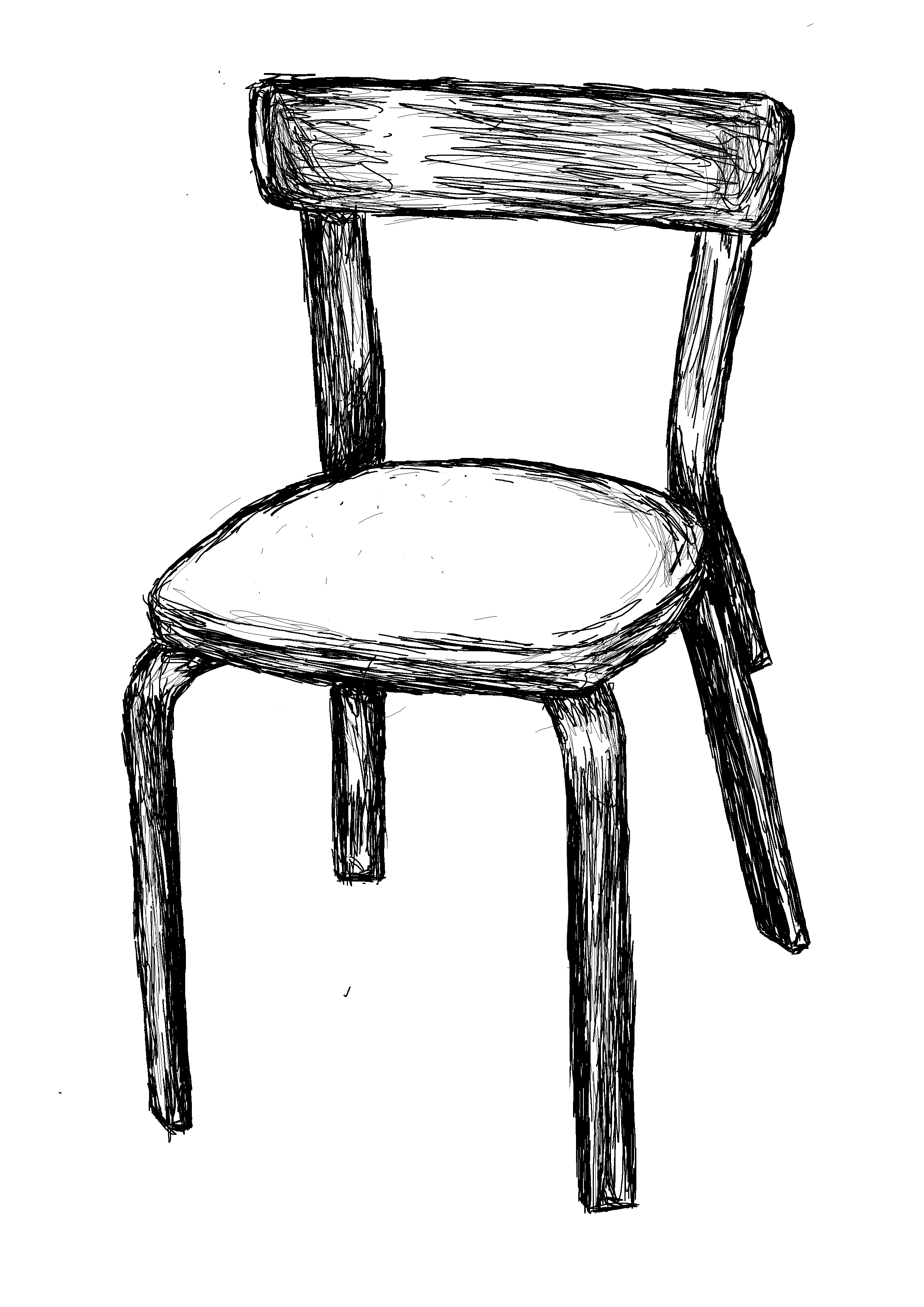 Black and white chair drawing - File Chair Black And White Drawing Jpg