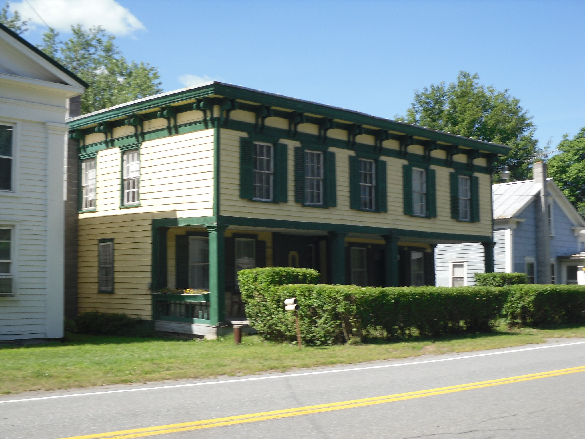 Historic districts in schoharie county new york for Chapman house
