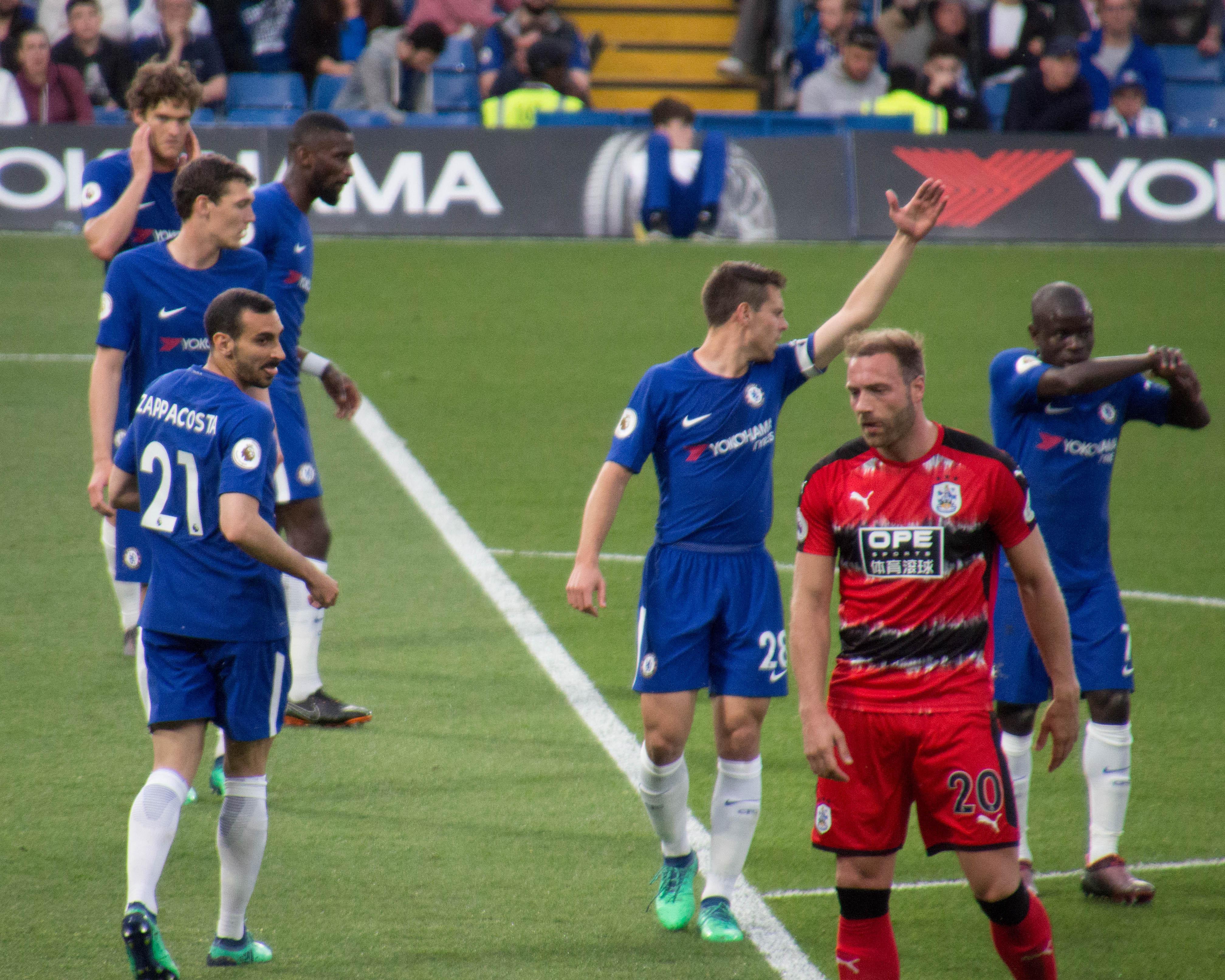 Image result for Chelsea vs Huddersfield