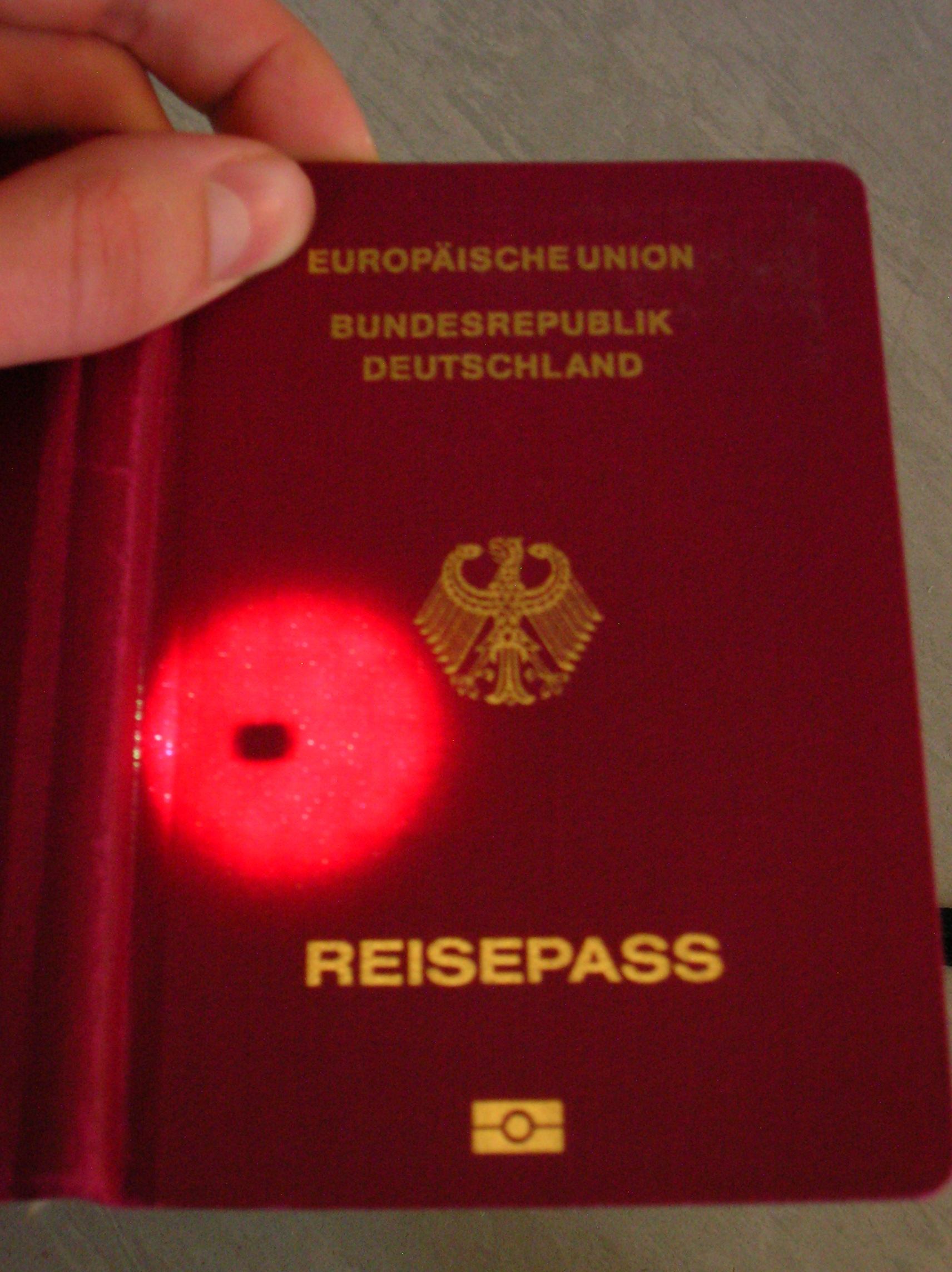 Chip Im Reisepass