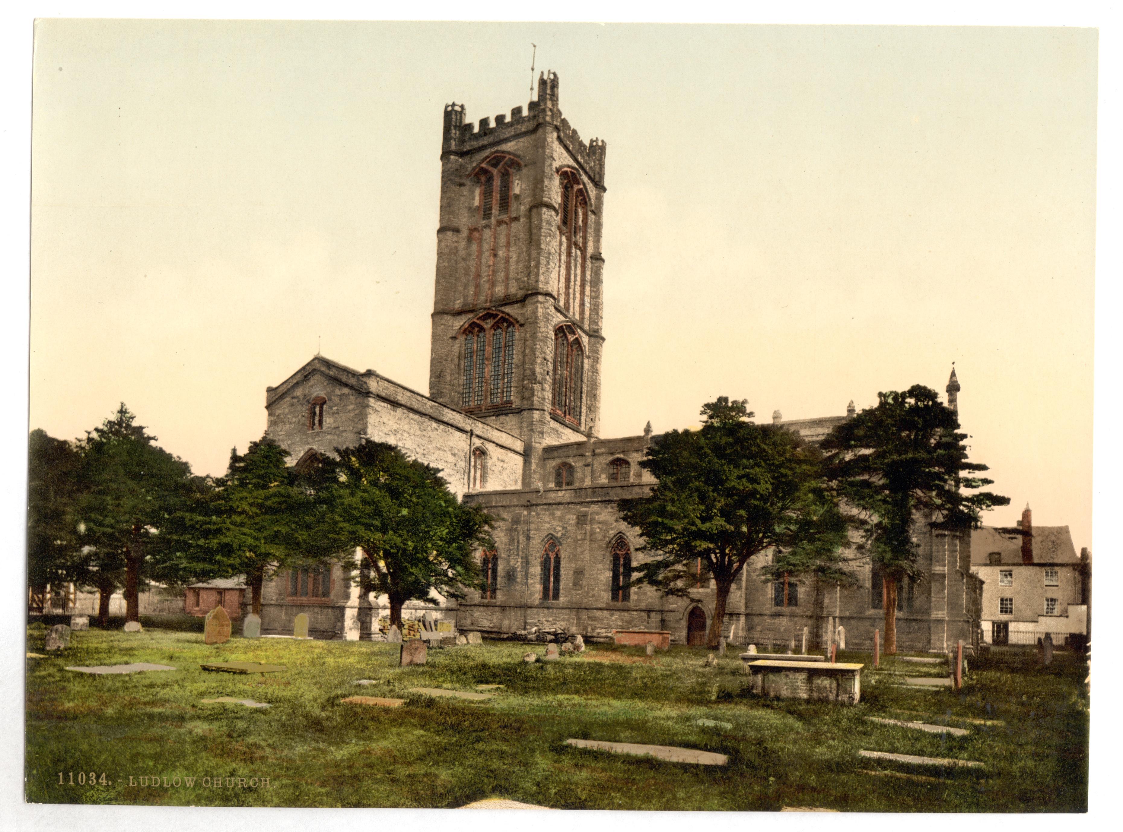 File:Church, Ludlow, England-LCCN2002696989.jpg