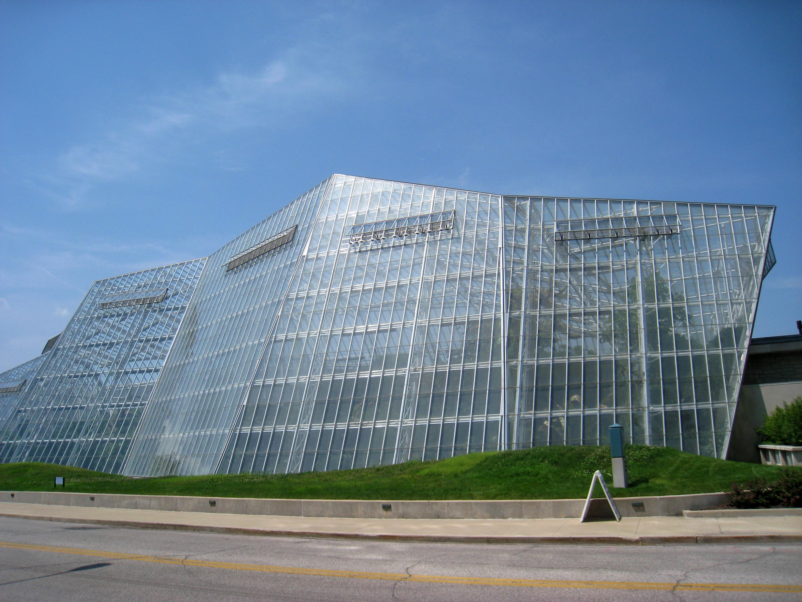 Cleveland Botanical Garden - east facade 2