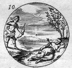 https://upload.wikimedia.org/wikipedia/commons/a/a5/Daniel_de_La_Feuille%2C_Devises_et_emblemes_anciennes_et_modernes_-_Apollo_and_Coronis.JPG