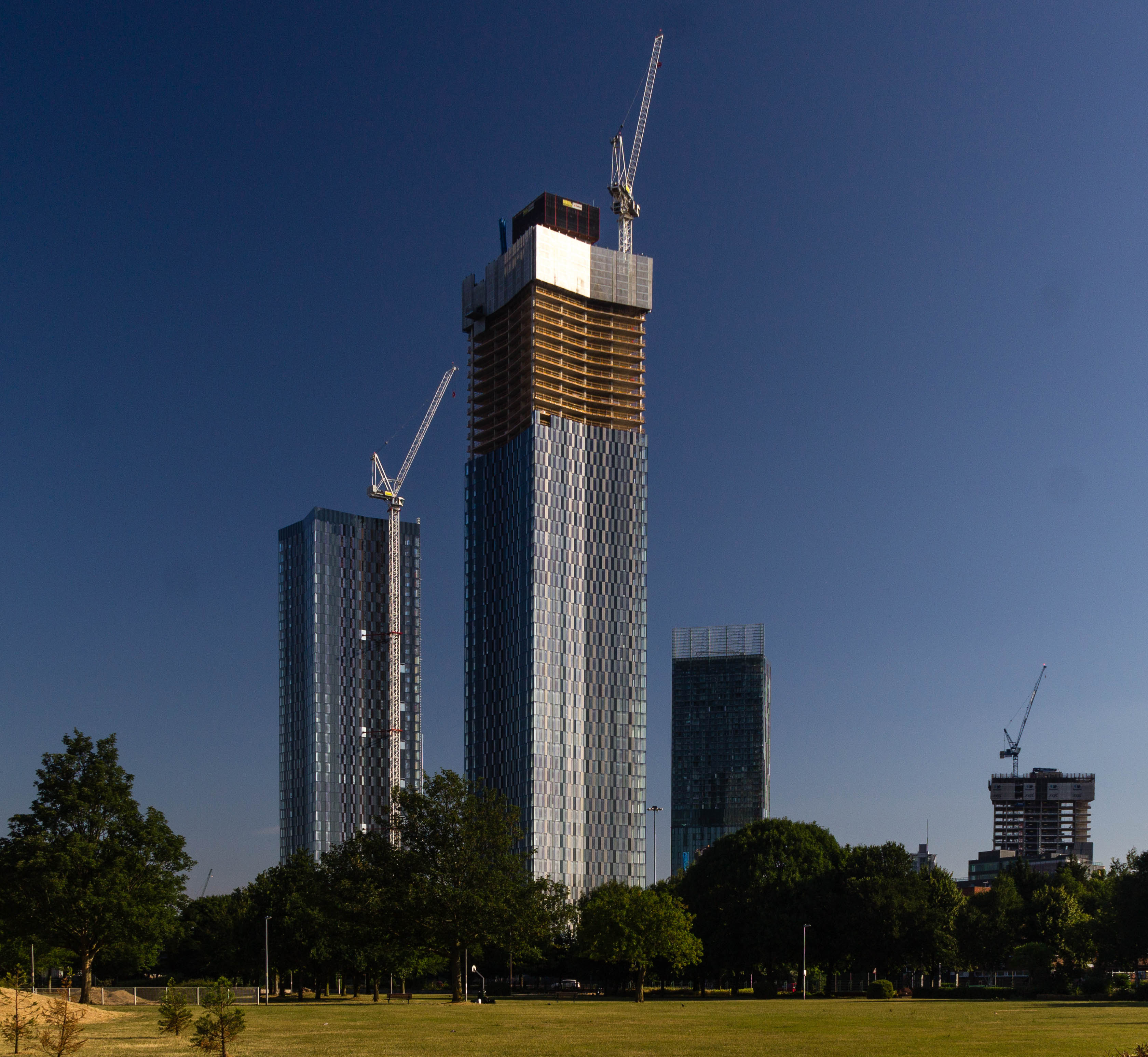 List Of Tallest Buildings And Structures In Greater Manchester Wikipedia