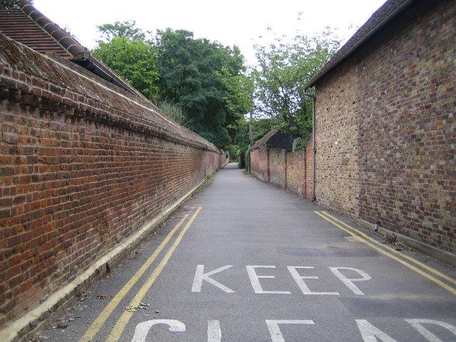 Denham, The Pyghtle - geograph.org.uk - 232196