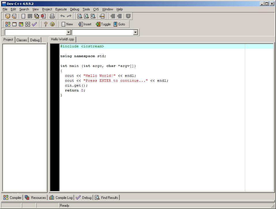 Taller informático: DEV C/C++   La Ratomaquia de Daman_1985