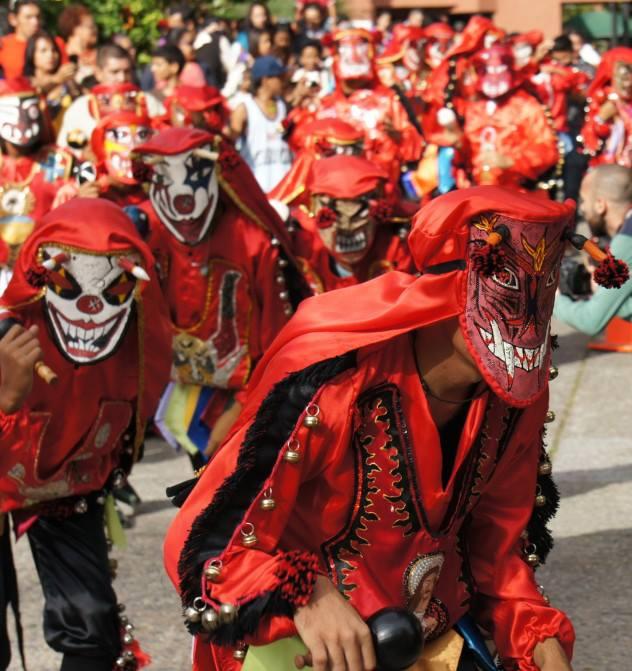 Diablos Danzantes De Tinaquillo Wikipedia La Enciclopedia