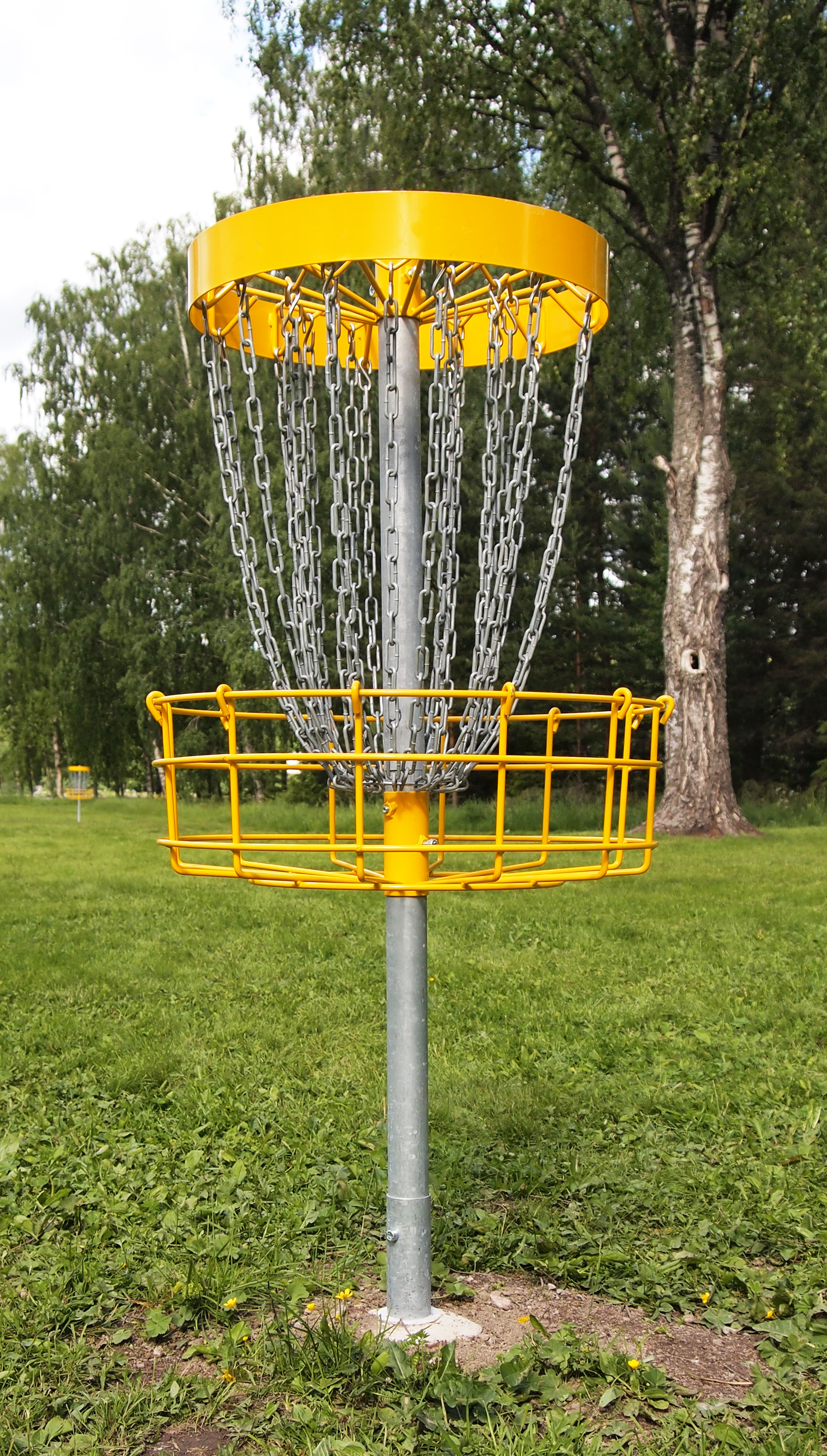 File Disc Golf Basket 2 Jpg Wikimedia Commons