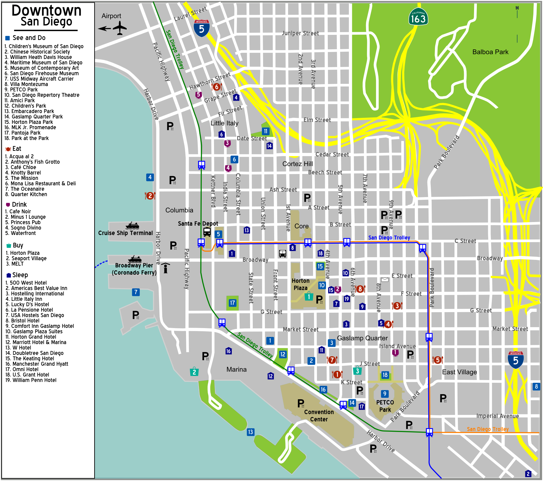 FileDowntown sandiego mapPNG Wikimedia Commons