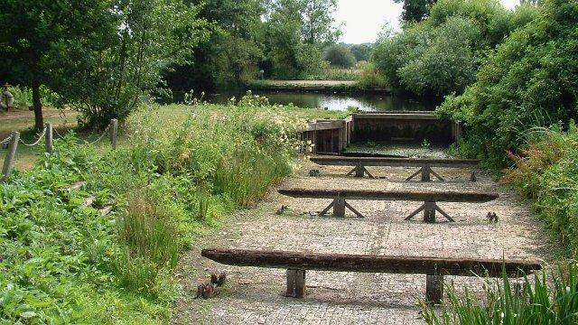 Dry dock near Flatford Mill - geograph.org.uk - 208978