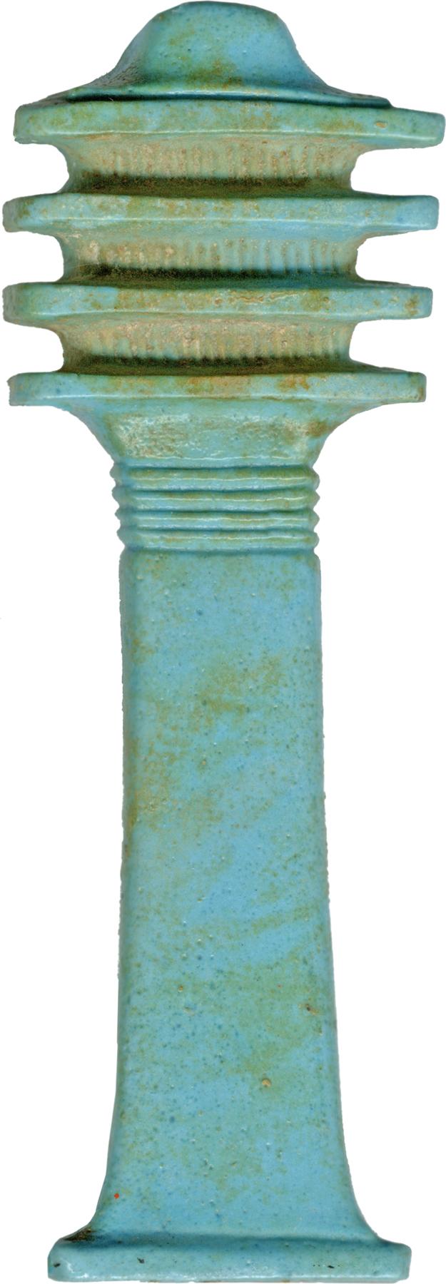 file egyptian   djed pillar   walters 481628