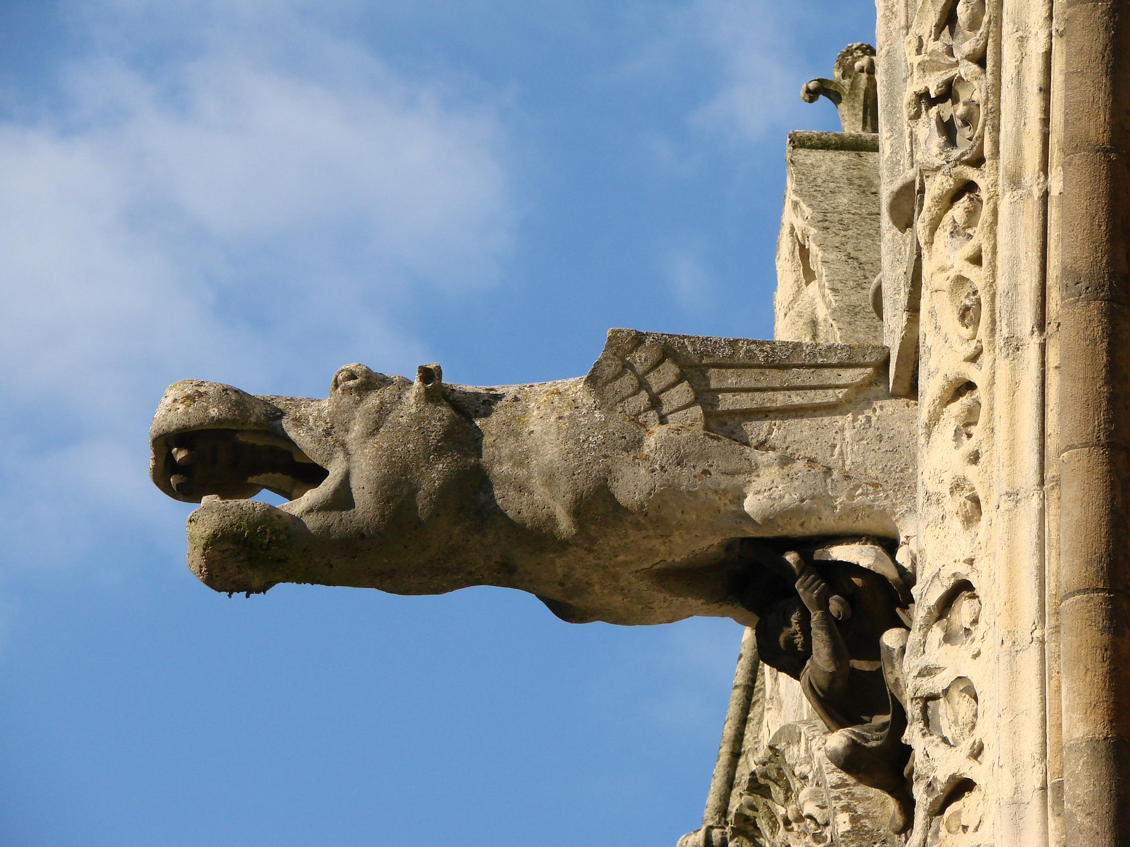 Gargouille d finition c 39 est quoi for Architecture gothique definition