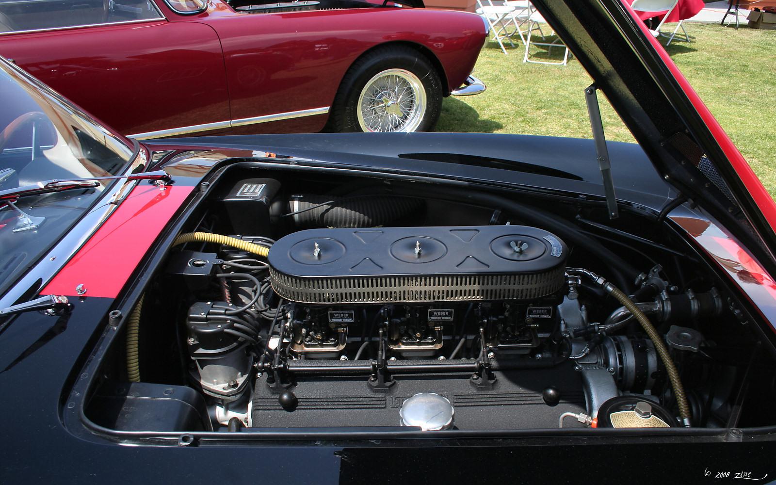 File Ferrari 250 Gt California Spyder Engine Jpg Wikimedia Commons