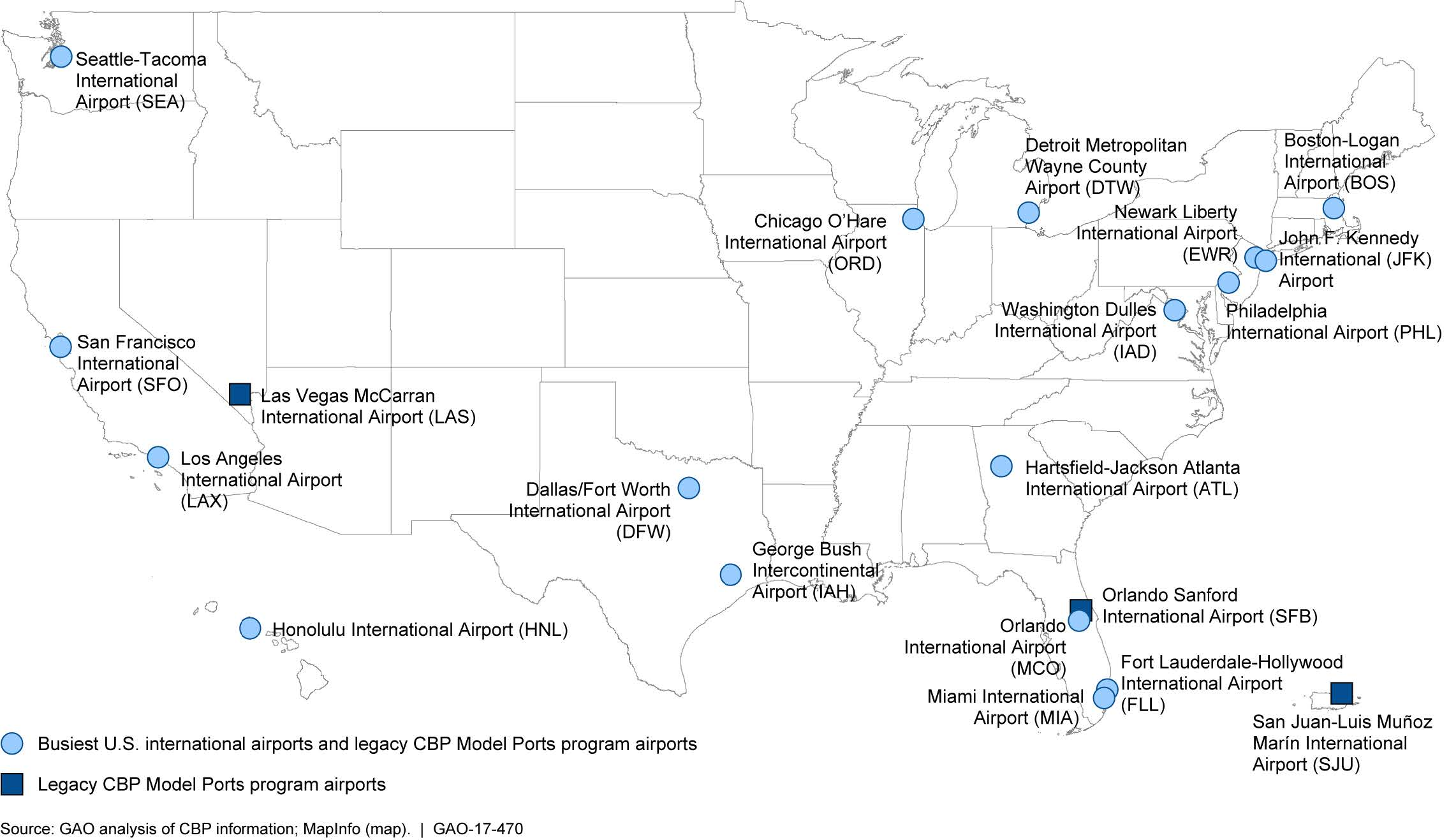 united states international airports map File:Figure 2  Map of the 17 Busiest U.S. International Airports