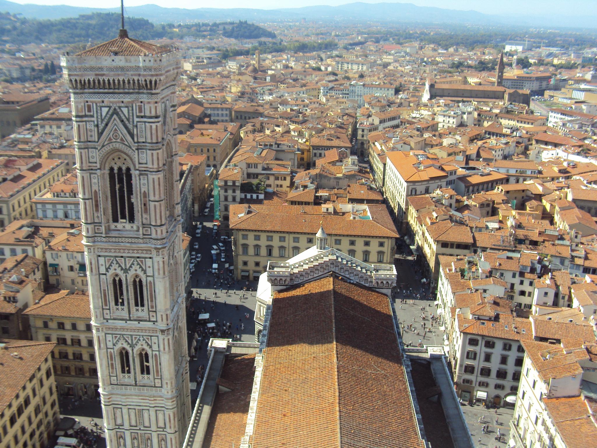 vistas desde la torre - oferta viaje florencia