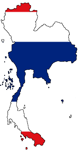 File Flag Map Of Thailand Png Wikimedia Commons