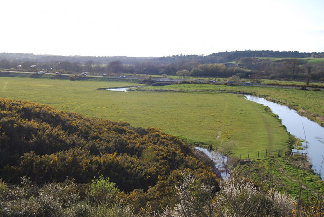 Flood plain of the R. Piddle - geograph.org.uk - 762947