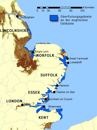 north sea flood 1953