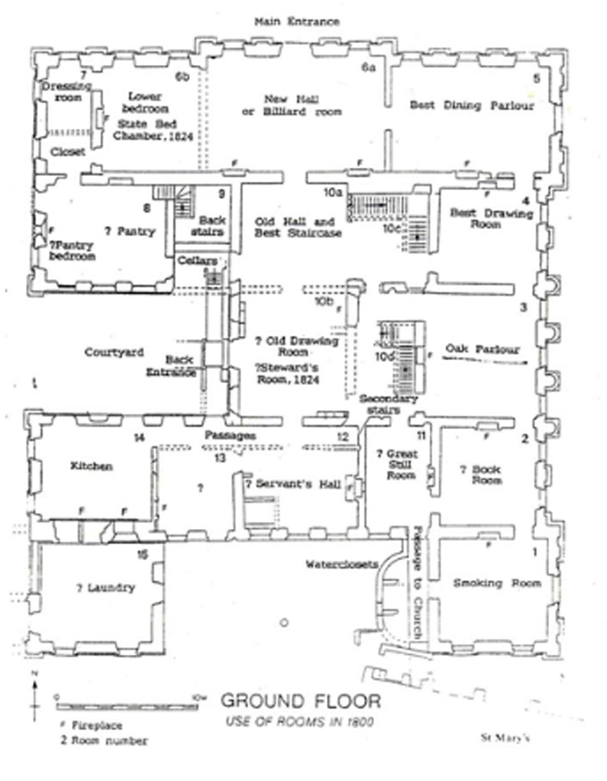 File:Floor plan Sutton Scarsdale Hall circa 1920.jpg ...