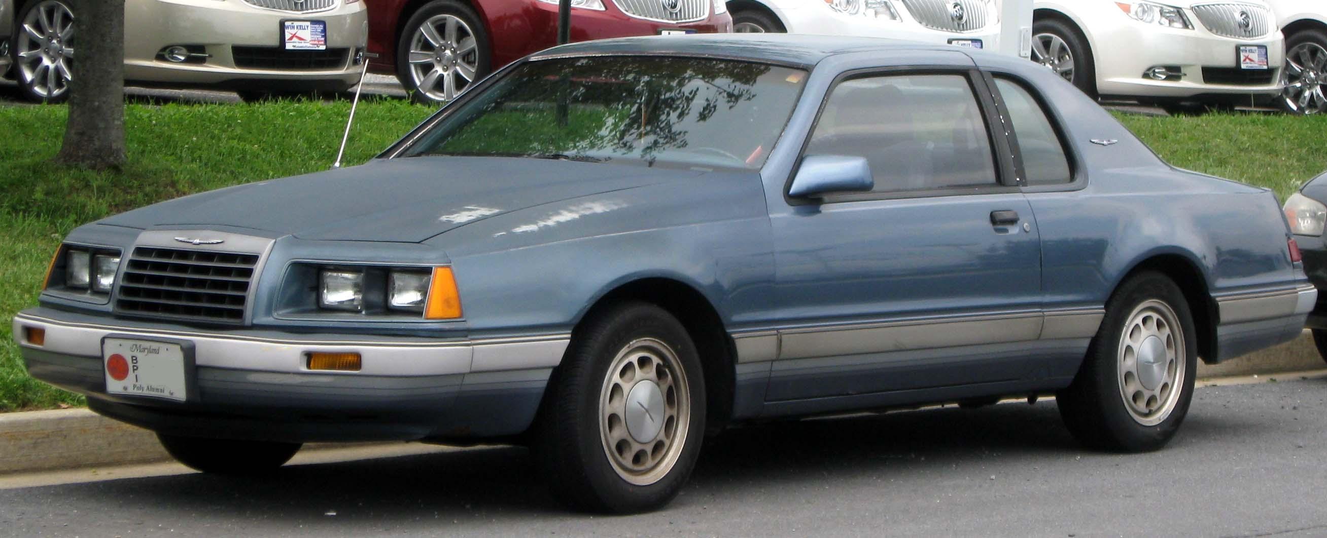 Ford thunderbird ninth generation wikipedia