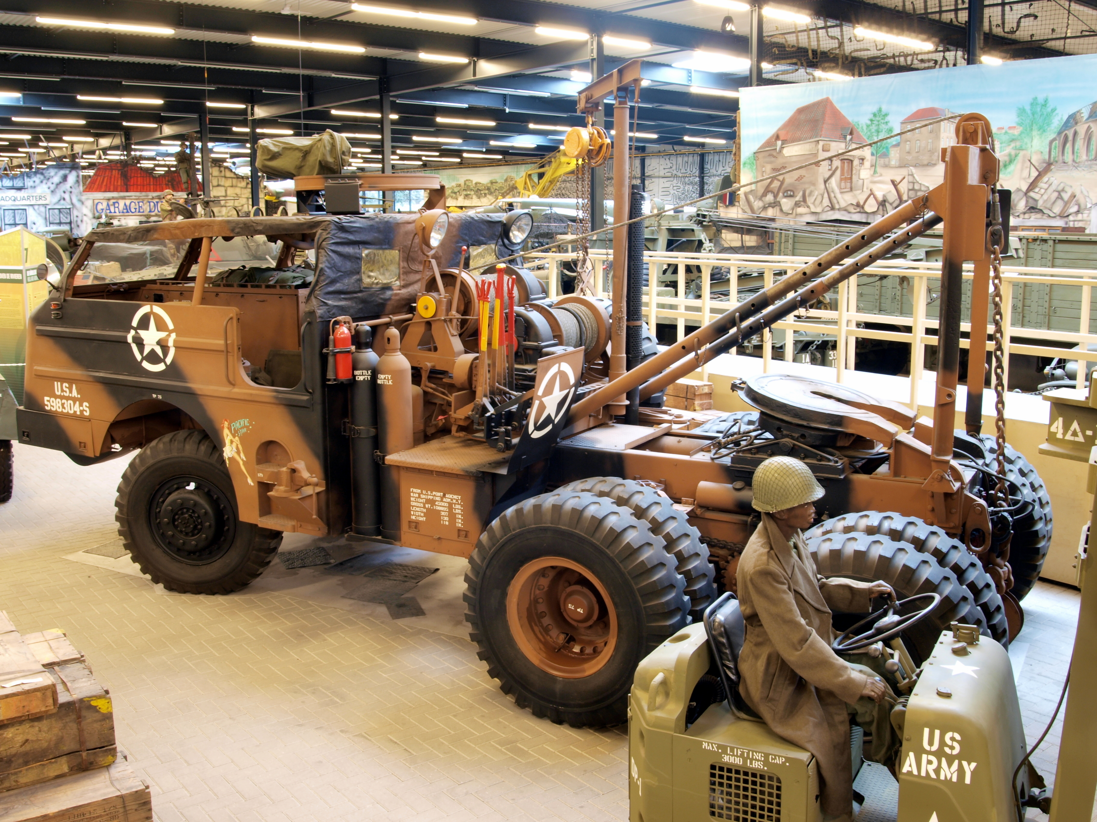 File:G-160 6x6 Pacific Car & Foundry M26A1 Tracktor pic4 ...