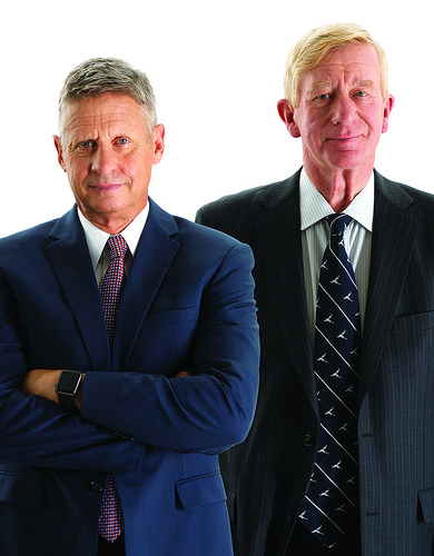Gary Johnson + William Weld