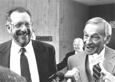 Harry Claiborne (right) during the impeachment hearings with his attorney, Oscar Goodman Goodman-Claiborne.jpg