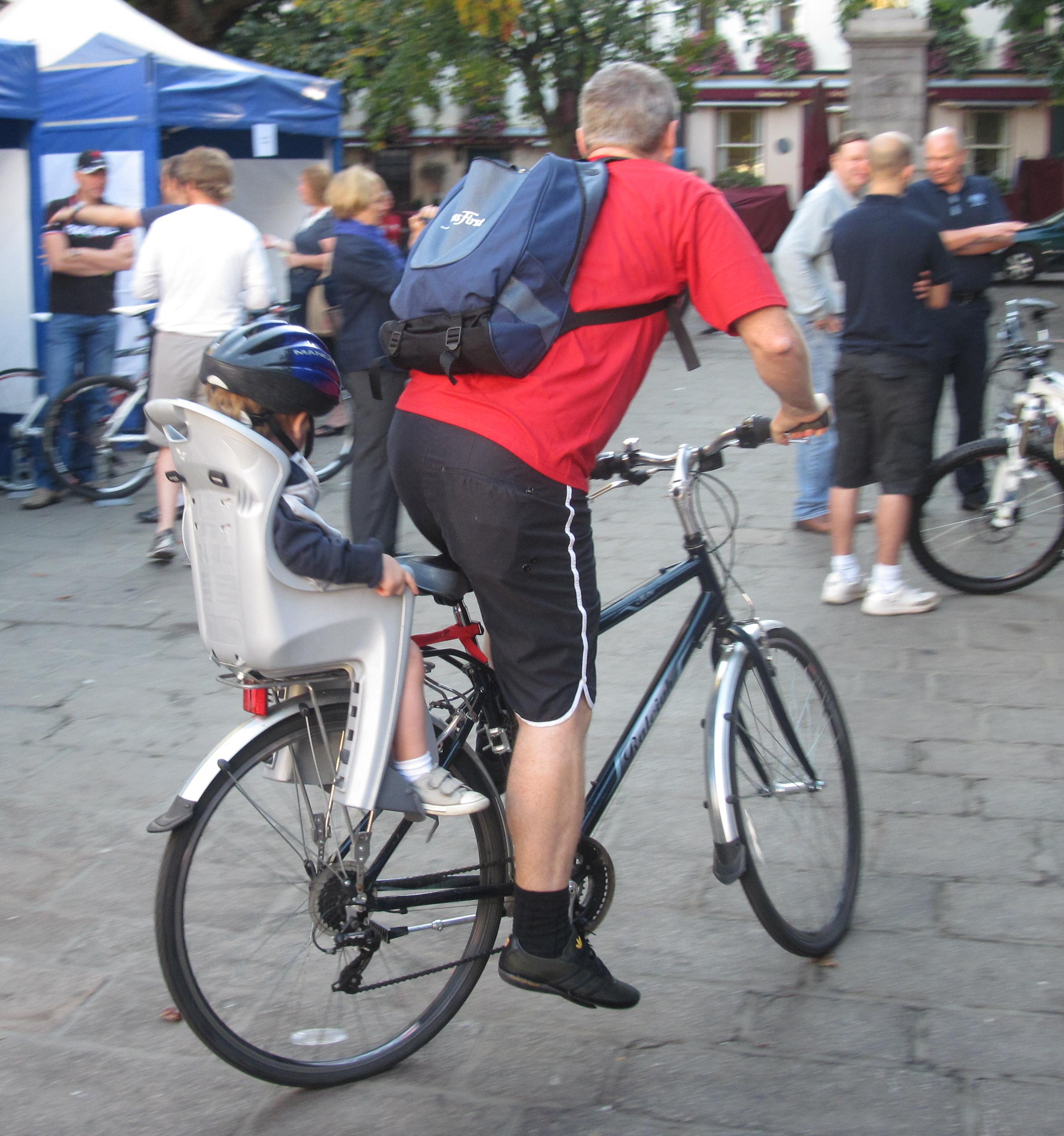 Ongekend Kinderzitje (fiets) - Wikipedia XA-53