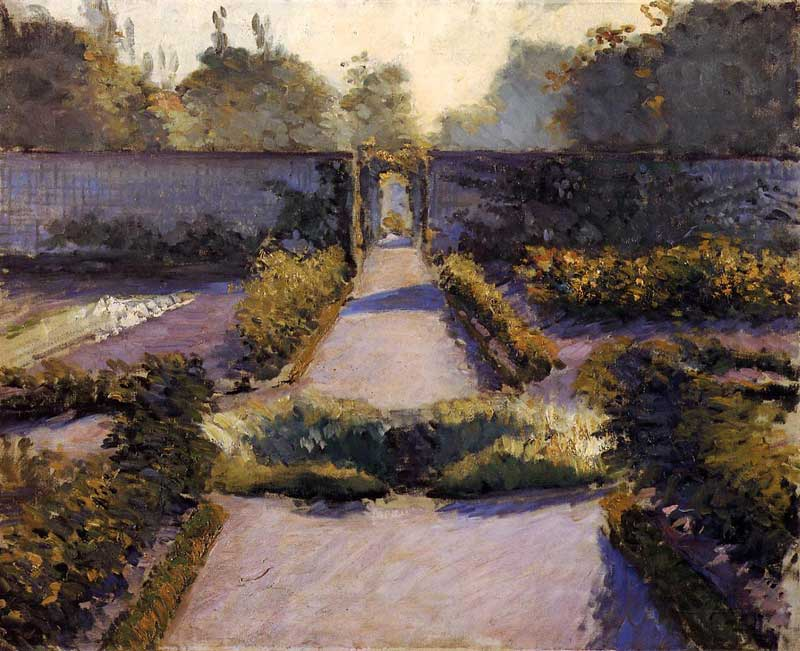 Image result for caillebotte garden