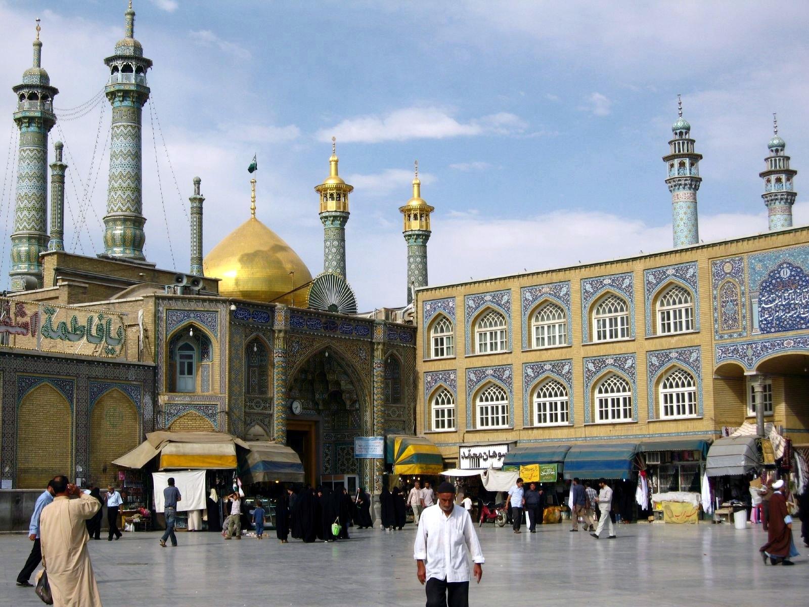 FileHazrat e Masumeh Qom Iran 1259137114jpg FileHazrat e Masumeh