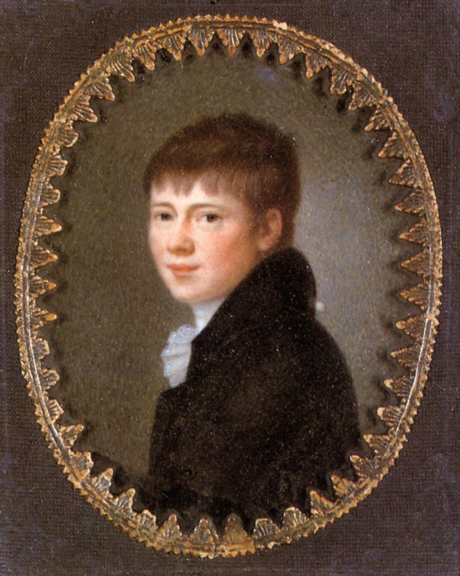 Datei:Heinrich von Kleist (Miniature, Peter Friedel, 1801