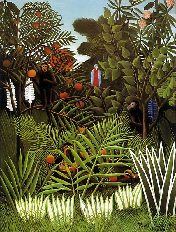 The life and works of henri rousseau
