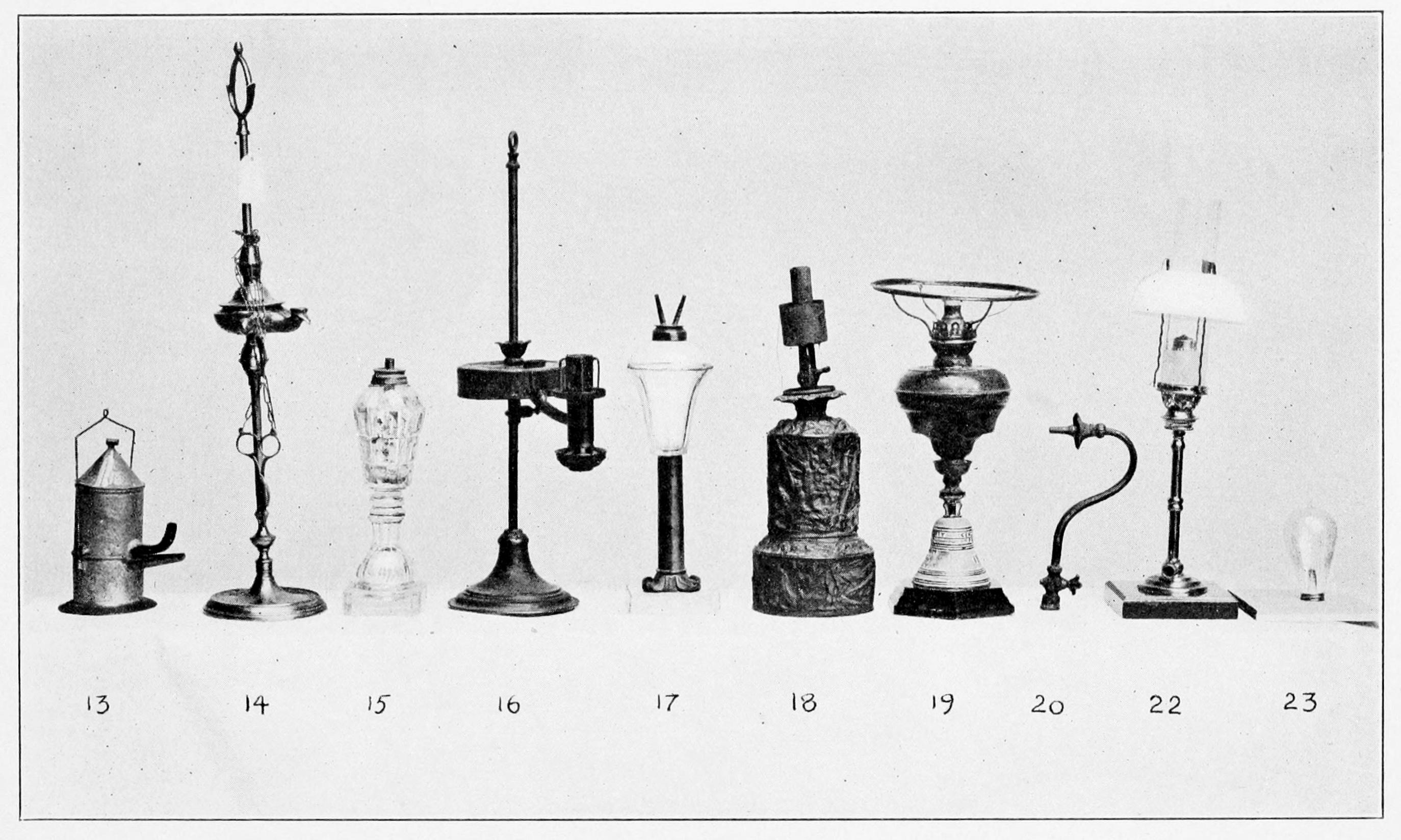 История лампы картинки
