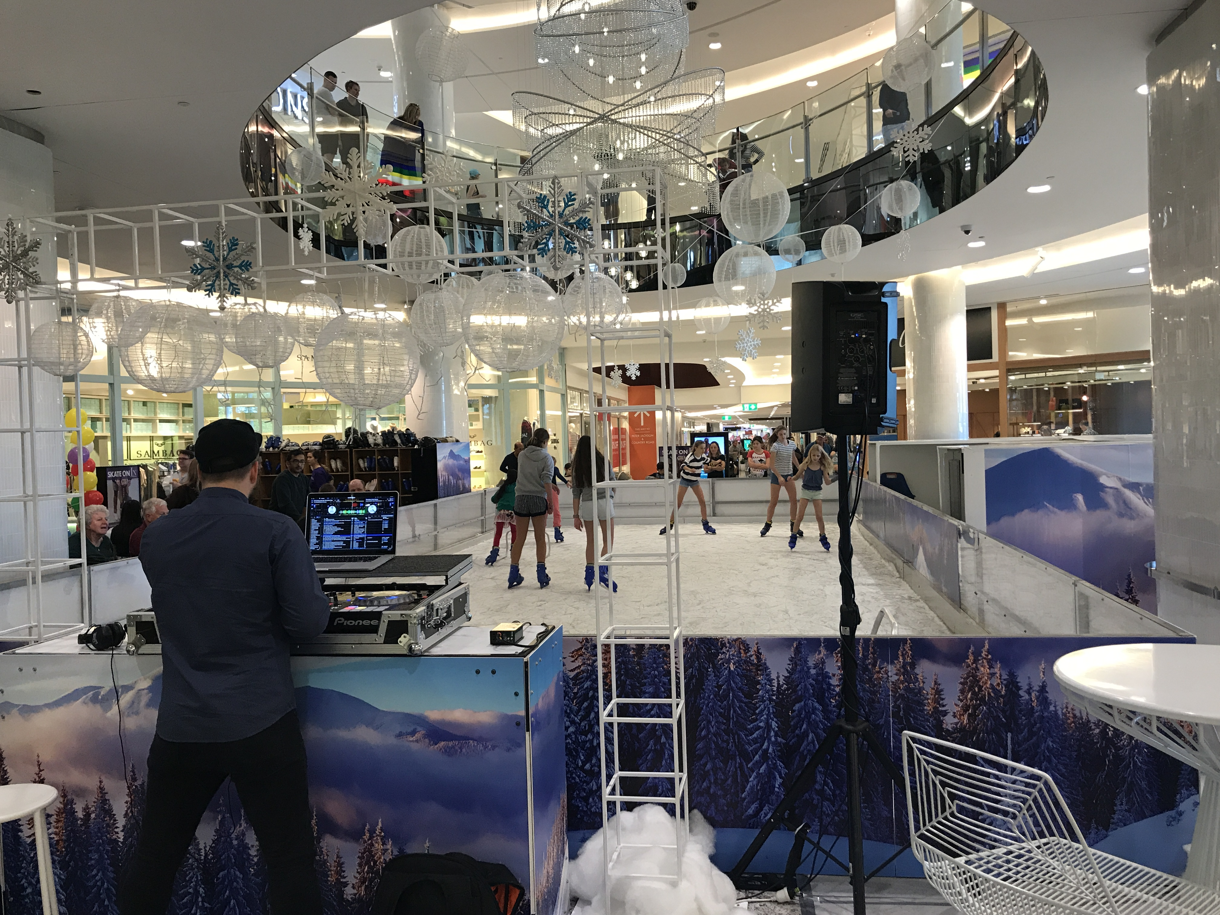 File:Ice skating at the Indooroopilly Shopping Centre