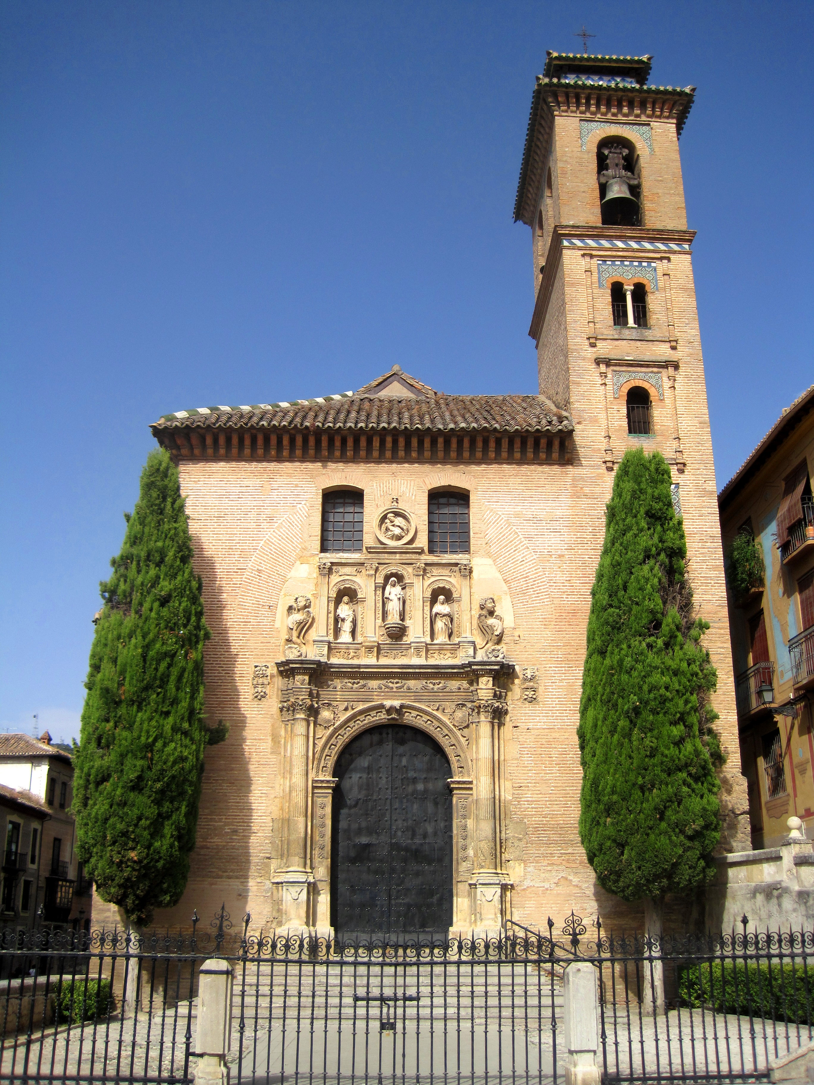 File iglesia de santa ana granada jpg - Santa ana granada ...