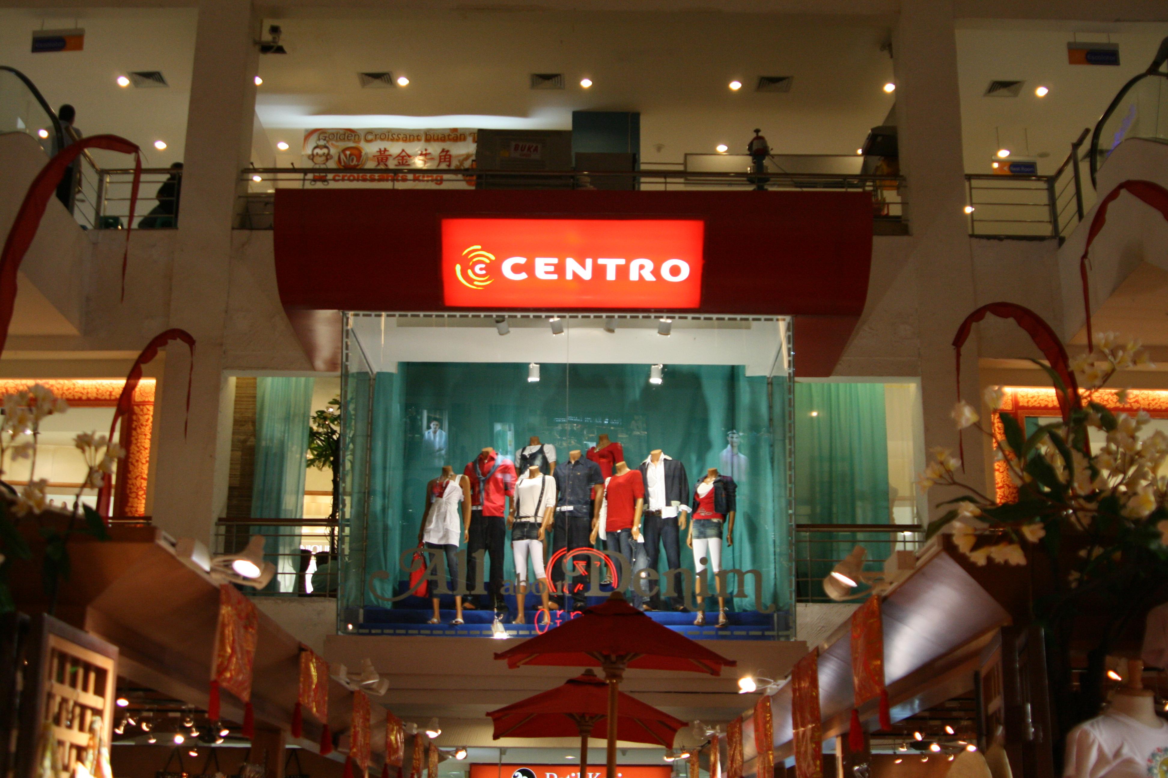 Hasil gambar untuk centro mall bali