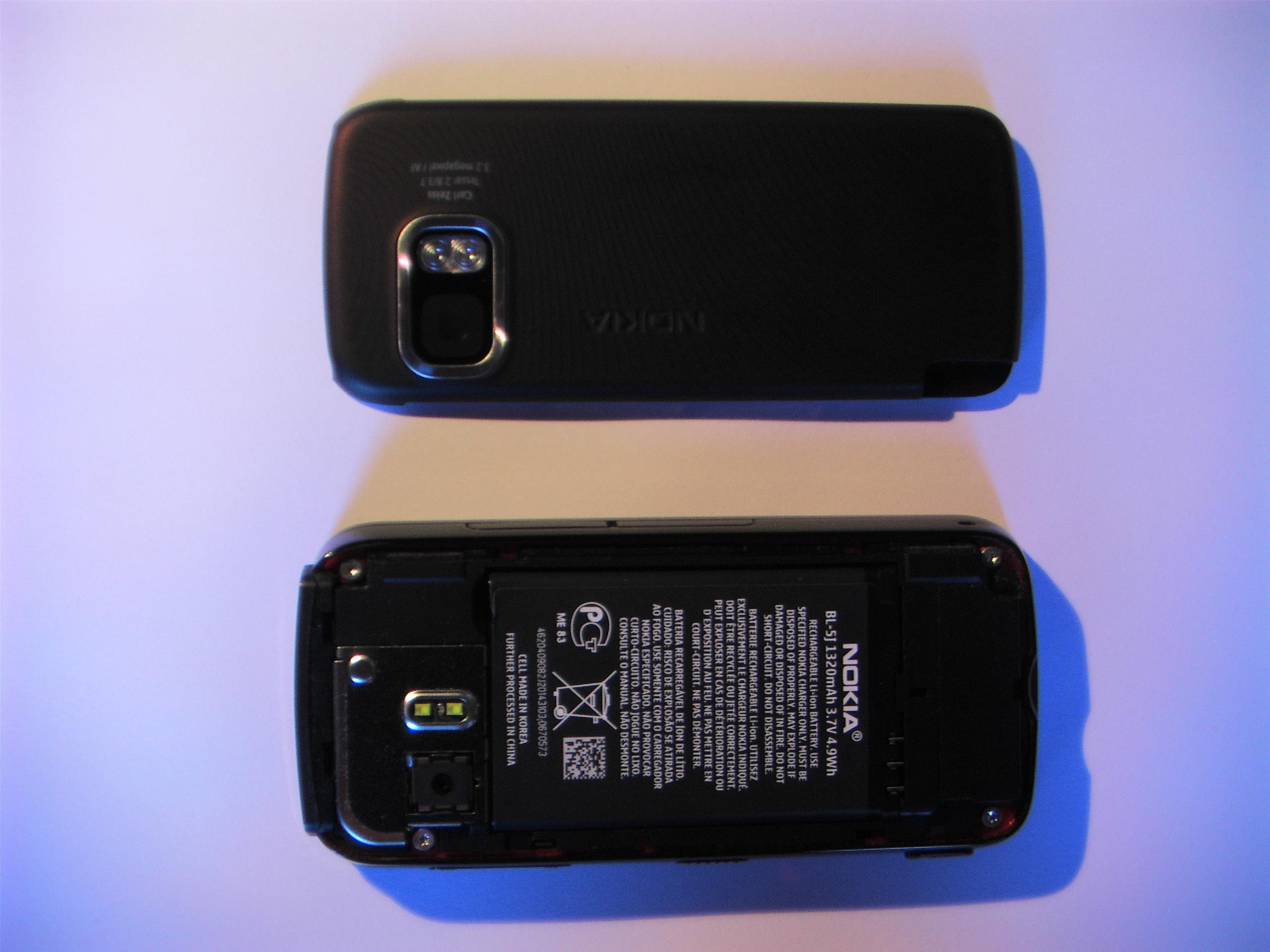 file interrieur du nokia 5800 xpressmusic avec baterrie jpg rh commons wikimedia org Nokia X6 Nokia N97 Mini
