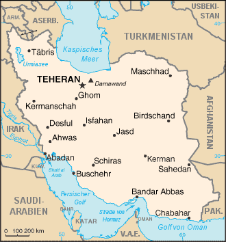 Image result for Iran map