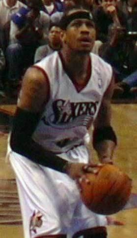 Iverson in 2003 Iverson shoots.jpg