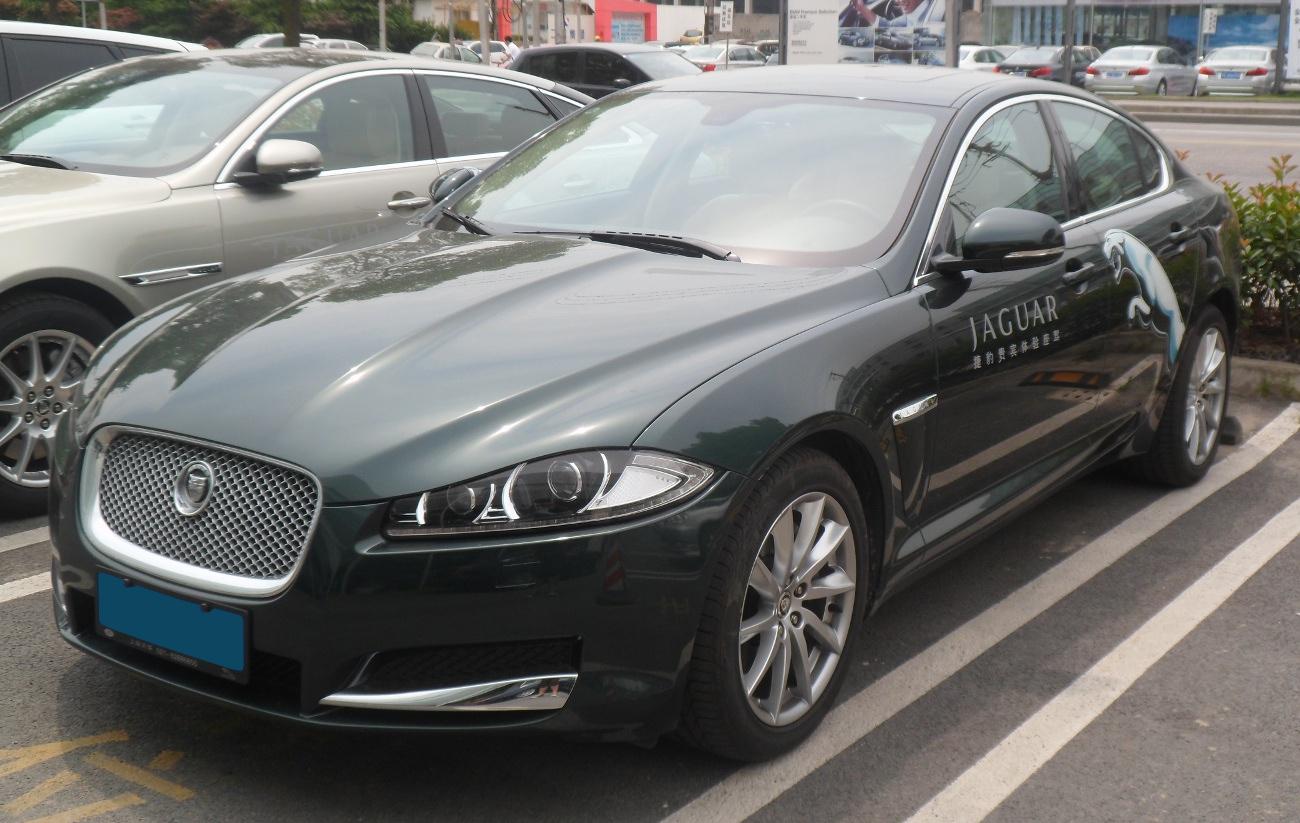 File:Jaguar XF X250 facelift China 2012-06-16.jpg - Wikimedia Commons