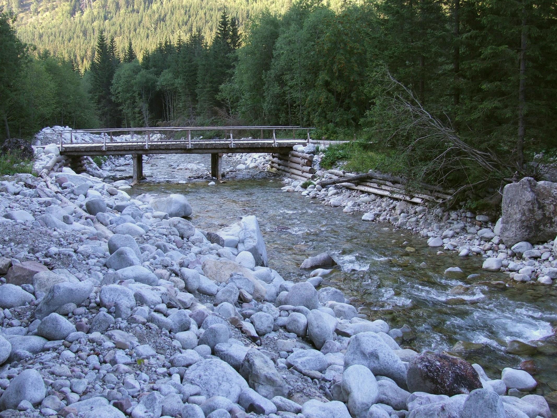 Tečúca voda - riečka Javorinka
