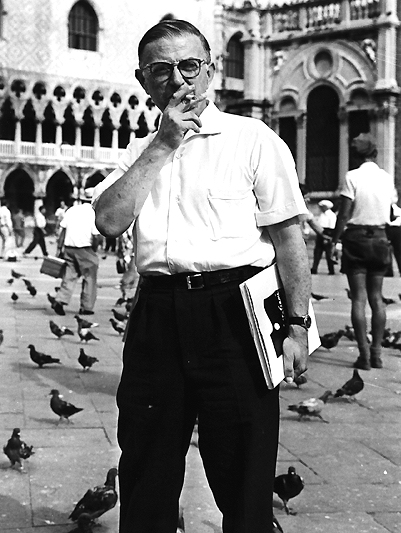 Jean-Paul Sartre in Venice.jpg