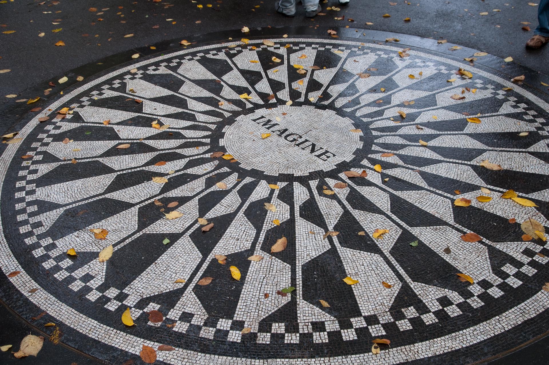 Strawberry Fields (memorial) en Central Park
