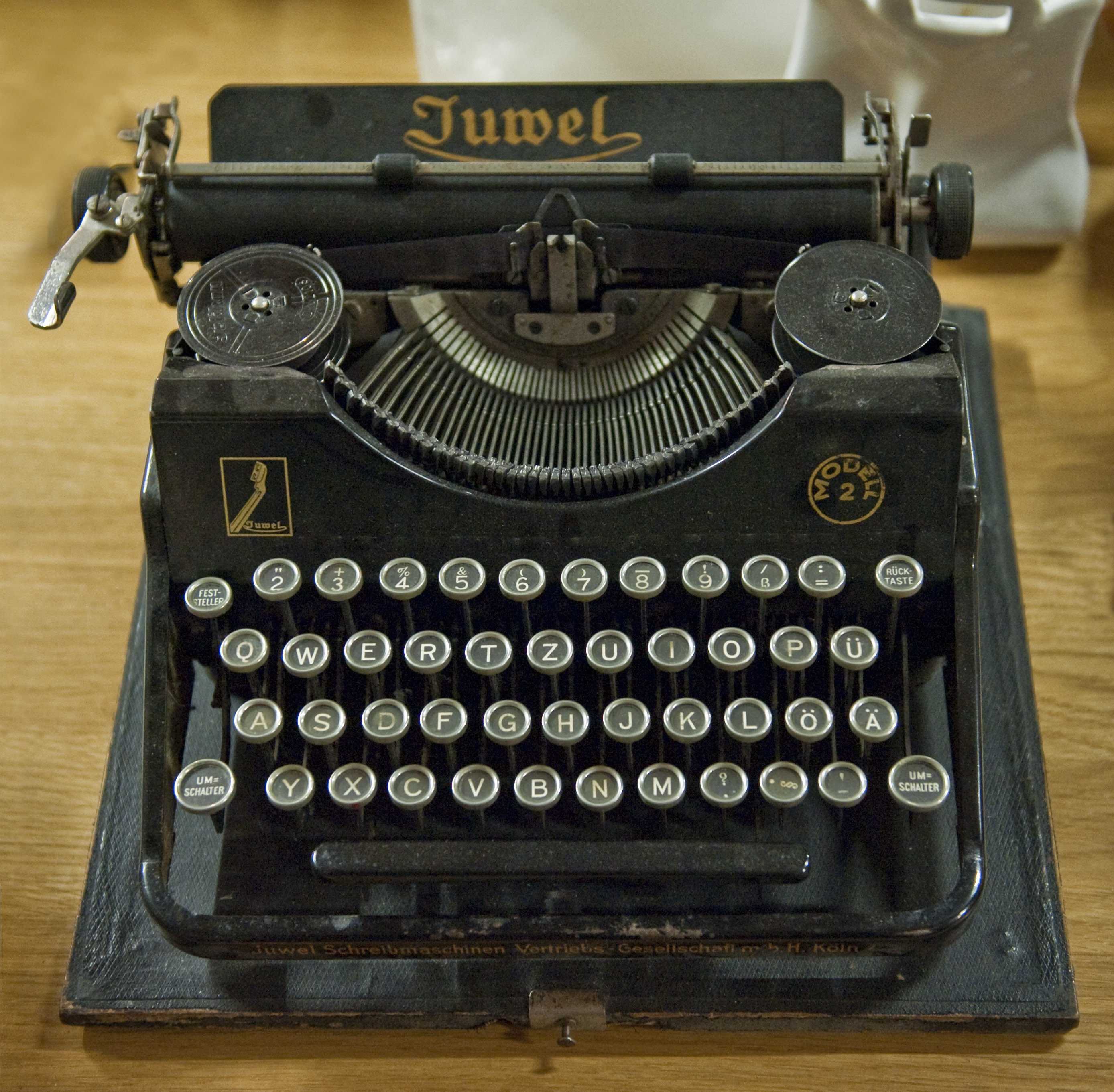 Old Fashioned Keyboard