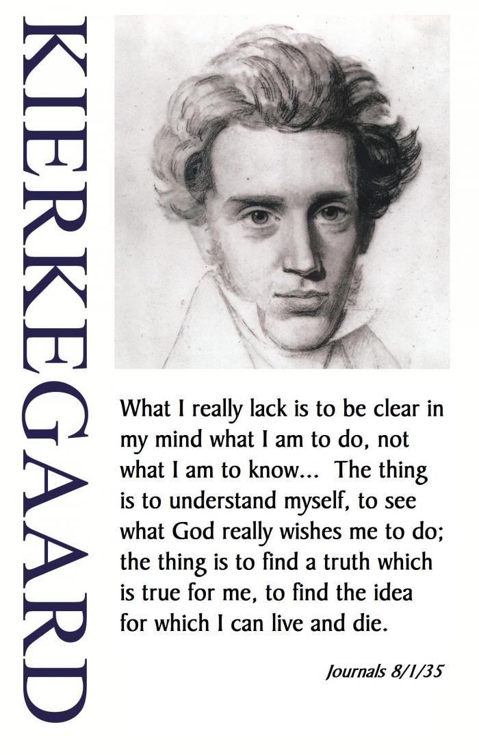 the early life and works of soren aabye kierkegaard Søren aabye kierkegaard  of individuals when faced with life choices [9] kierkegaard's early work was written under various  soren kierkegaard, works of.