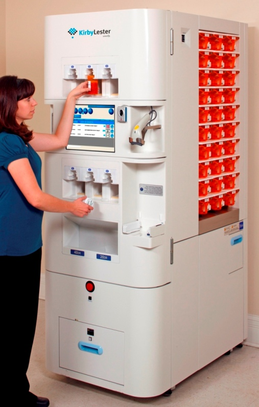 medication dispenser machine