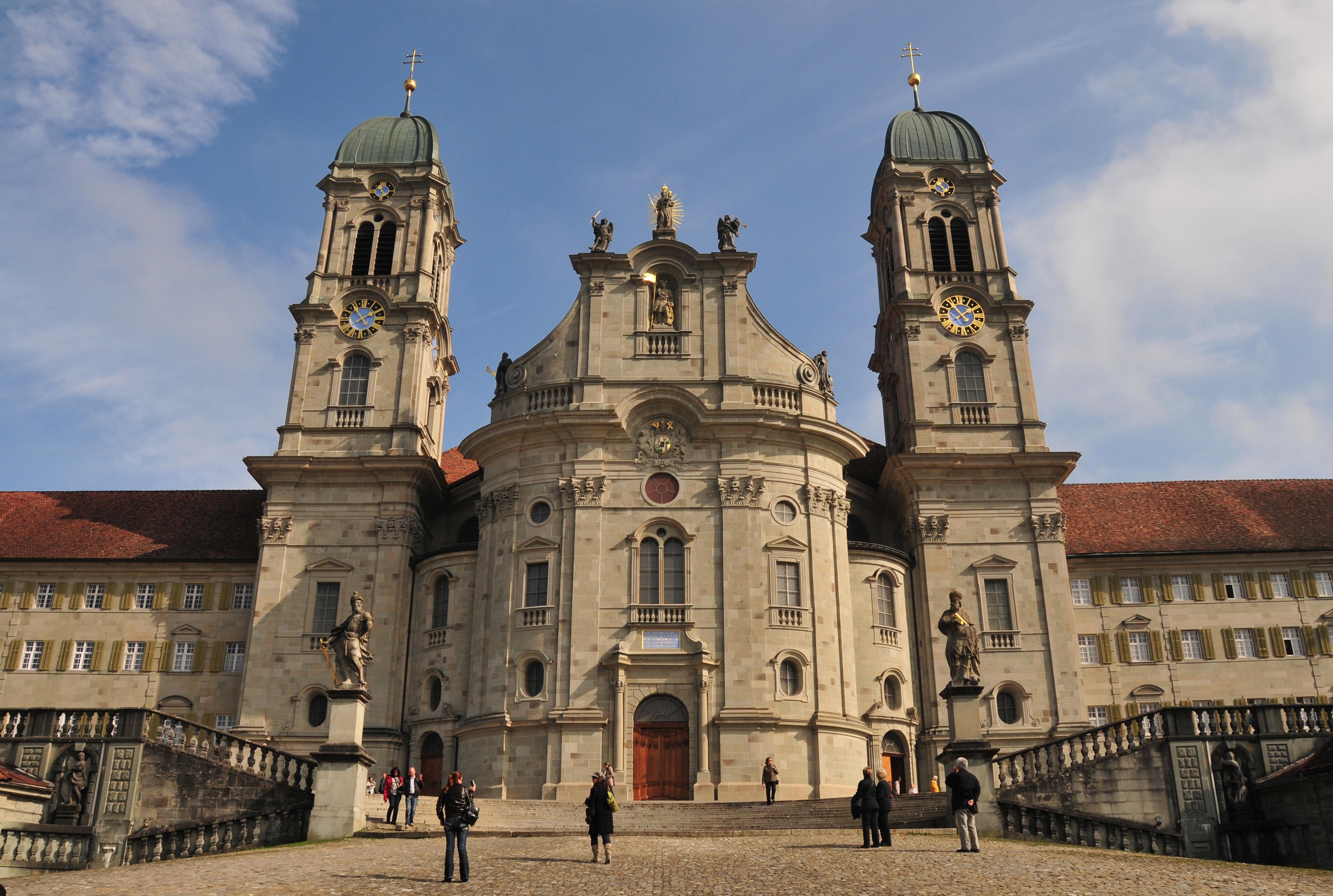 Resultado de imagen de abadía suiza