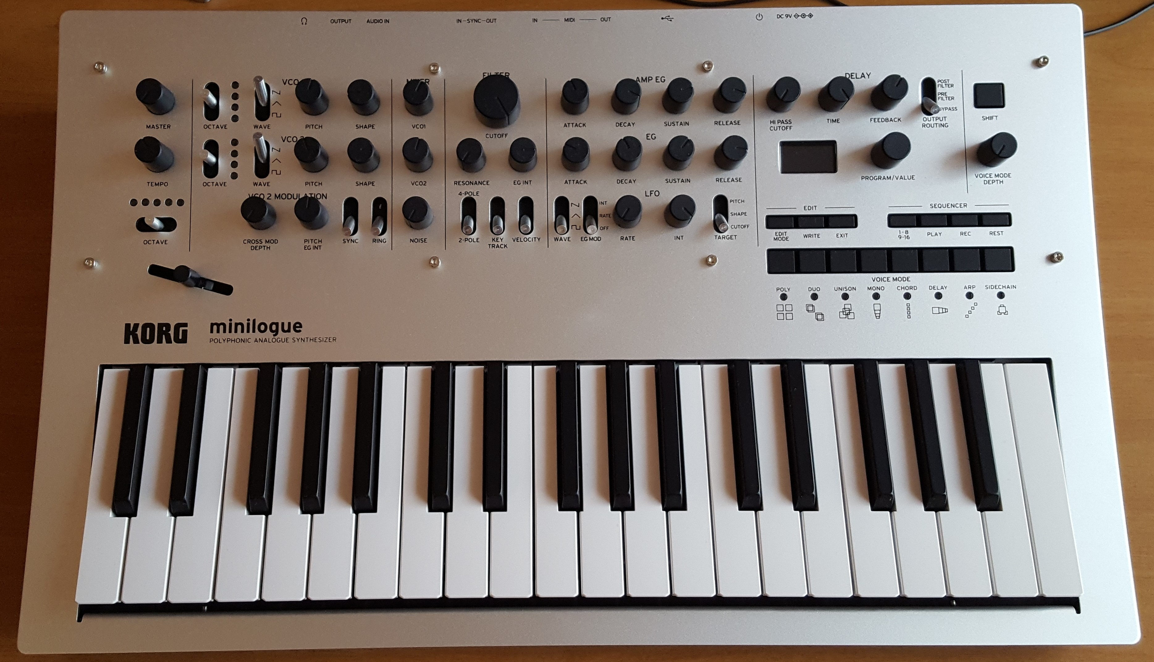 Korg Minilogue - Wikipedia